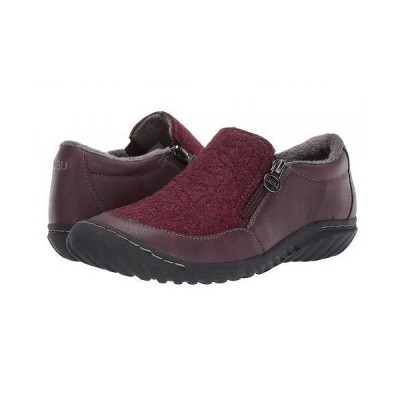 JBU ジェービーユー レディース 女性用 シューズ 靴 スニーカー 運動靴 Crimson - Wine
