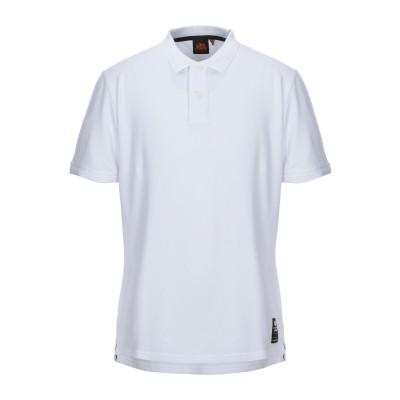 サンデッキ SUNDEK ポロシャツ ホワイト XL コットン 92% / ポリウレタン® 8% ポロシャツ