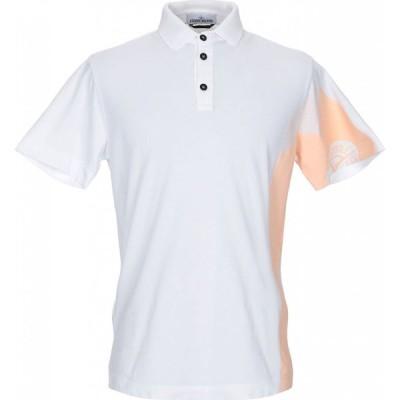ストーンアイランド STONE ISLAND メンズ ポロシャツ トップス Polo Shirt White
