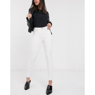 トップショップ Topshop レディース ジーンズ・デニム スキニー ボトムス・パンツ Jamie skinny jeans in off white オフホワイト