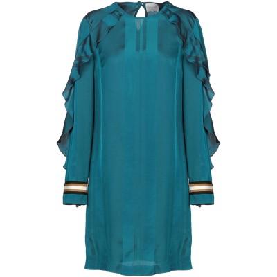 アリジ ALYSI ミニワンピース&ドレス エメラルドグリーン 42 レーヨン 67% / シルク 33% ミニワンピース&ドレス