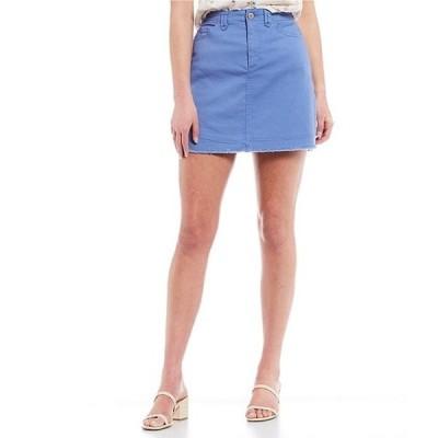 カッパーキー レディース スカート ボトムス Button Front Mini Skirt