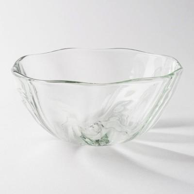 琉球ガラス工房 glass32 うず鉢(クリア)