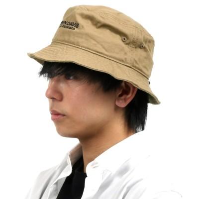 Salong hameu / BEN DAVIS◆フロントロゴ刺繍バケットハット MEN 帽子 > ハット