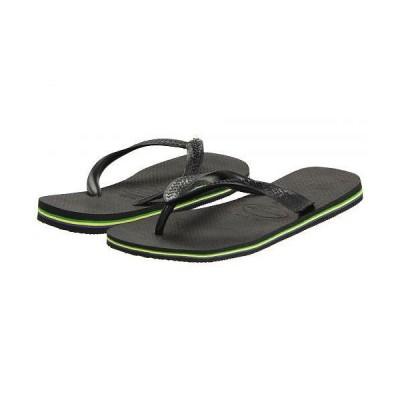 Havaianas ハワイアナス メンズ 男性用 シューズ 靴 サンダル Brazil Flip Flops - Black