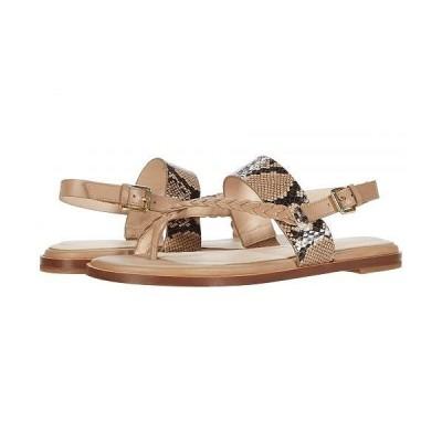 Cole Haan コールハーン レディース 女性用 シューズ 靴 サンダル G.OS Anica Thong Sandal - Amphora Leather/Tonal Exotic Snake Print Leather