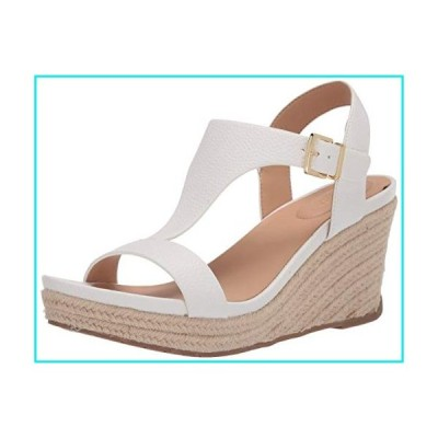 Kenneth Cole REACTION Card Wedge Sandals, White, 8.5 M US【並行輸入品】