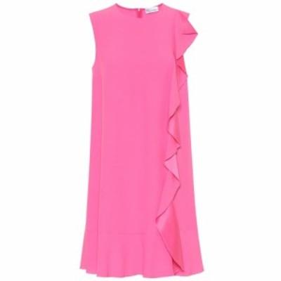 レッド ヴァレンティノ REDValentino レディース ワンピース ワンピース・ドレス Ruffled crepe dress sunrise pink