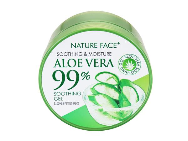 韓國 Nature Face+~99%蘆薈保濕舒緩凝膠(300ml)【D546024】