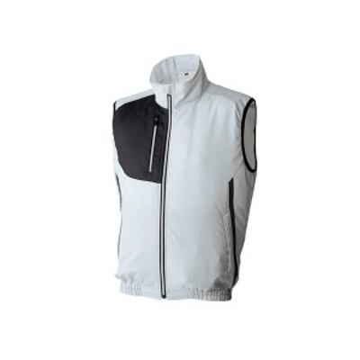 アタックベース:空調風神服ベスト グレー 3L 060
