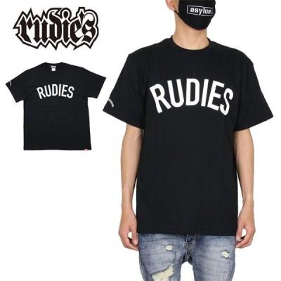 ルーディーズ RUDIE'S Tシャツ 半袖Tシャツ メンズ レディース ブランド 大きいサイズ おしゃれ PHAT-T BLACK 84552