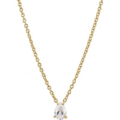 ナディール NADRI レディース ネックレス ジュエリー・アクセサリー Modern Luv Small Pear Cubic Zirconia Pendant Necklace Gold