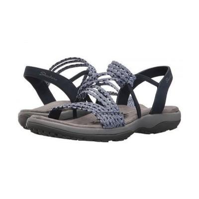 SKECHERS スケッチャーズ レディース 女性用 シューズ 靴 サンダル Reggae Slim - Stretch Appeal - Navy