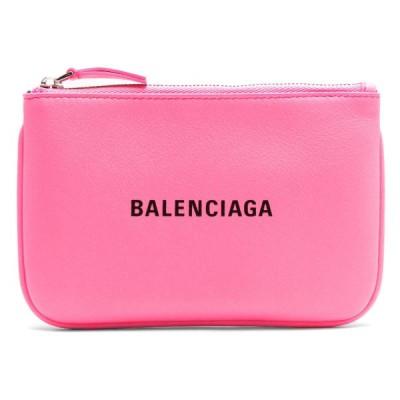 バレンシアガ ポーチ バッグ レディース ヴィル XS アシッドフクシャピンク&ブラック 551995 DLR1N 5610 BALENCIAGA