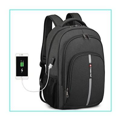 【新品】FINPAC 15.6インチ ノートパソコンバックパック USB充電ポート付き 防水 ビジネスバックパック 大