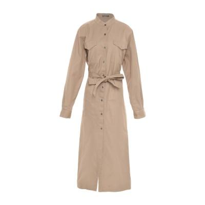 デパートメント 5 DEPARTMENT 5 ロングワンピース&ドレス キャメル XS コットン 100% ロングワンピース&ドレス