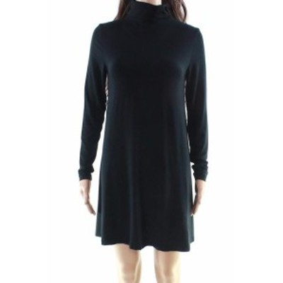 Tart タルト ファッション ドレス Tart NEW Black Womens Size XS Turtleneck Stretch Solid Shirt Dress