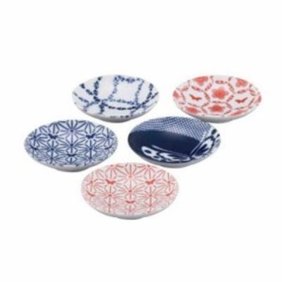 山加商店 HANAE MORI KOMON 小紋 豆皿揃 MC1300-127 (1545865)
