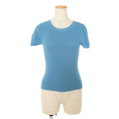 エムズグレイシー ニット セーター 腕袖リボン 半袖 38
