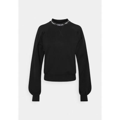 ディーゼル パーカー・スウェットシャツ レディース アウター TULIP - Sweatshirt - black