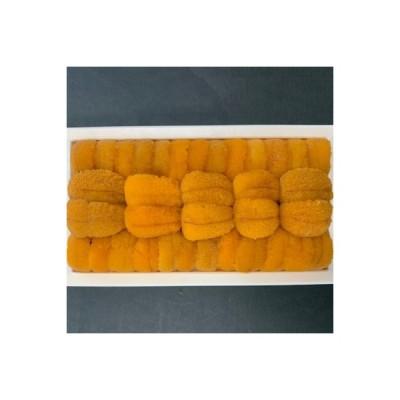 ふるさと納税 紋別市 蝦夷バフンウニ冷凍折詰 100g