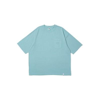 tシャツ Tシャツ 【FRUIT OF THE LOOM/フルーツオブザルーム】FTL EMB POCKET BIG TEE/刺繍ポケット付BIG S