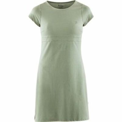 フェールラーベン Fjallraven レディース ワンピース ワンピース・ドレス High Coast Dress Sage Green