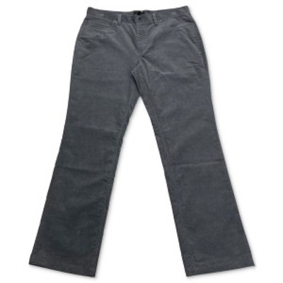 アルファニ メンズ カジュアルパンツ ボトムス Men's Regular-Fit Corduory Pants New Grey