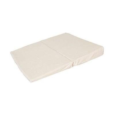 リビングプランニング 低反発枕 [逆流性食道炎 防止] なだらか マットレス 安眠枕 (アイボリー)