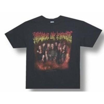 ファッション トップス Cradle Of Filth-Tournography Tightening The Grip-2007 Tour-X-Large Black T-shirt
