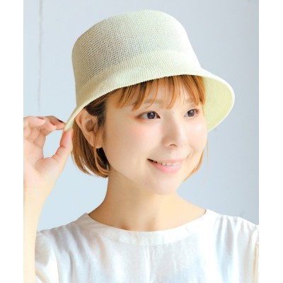 14+(ICHIYON PLUS) / ペーパーバケットハット WOMEN 帽子 > ハット