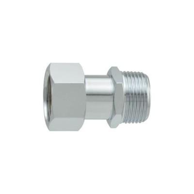 カクダイ:片ナットユニオン 水道配管継手 変換アダプター 原状回復 GA-JE017 型式:GA-JE017