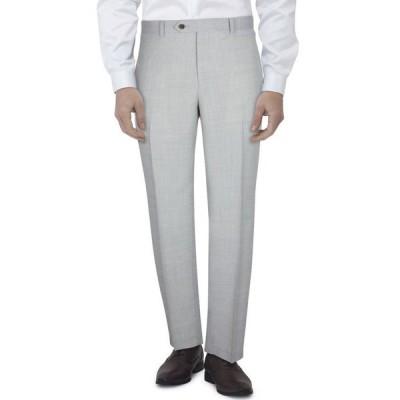 タリア メンズ カジュアルパンツ ボトムス Men's Slim-Fit Gray Tic Suit Pants
