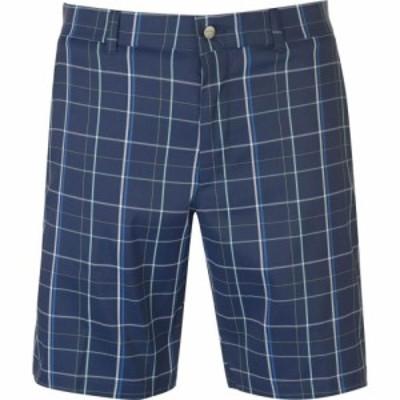 キャロウェイ Callaway メンズ ショートパンツ ボトムス・パンツ Plaid Shorts Medieval Blue