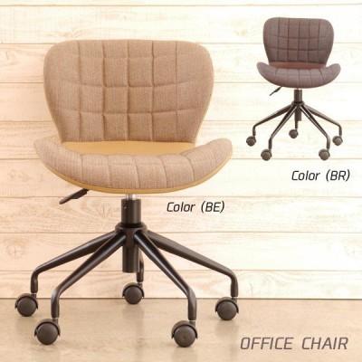 オフィスチェア キャスター付 昇降式 デスクチェアー 椅子