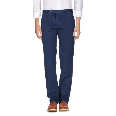 DOPPIAA パンツ ブルー 46 コットン 100% パンツ