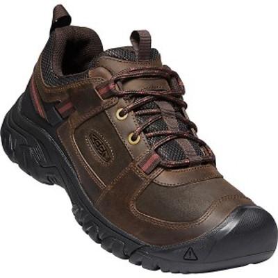 (取寄)キーン メンズ ターギー 3 カジュアル シューズ Keen Men's Targhee III Casual Shoes Dark Earth / Fired Brick 送料無料