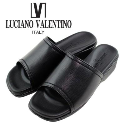 日本製 LUCIANO VALENTINO ITALY ルチアーノ バレンチノ コンフォートサンダル レディース 歩きやすい オフィスサンダル  5740