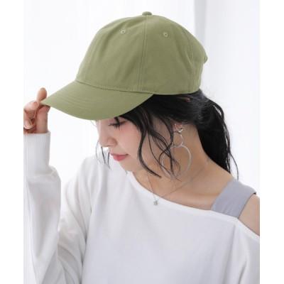 osharewalker / 『撥水ニュアンスコットンキャップ』 WOMEN 帽子 > キャップ