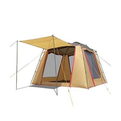 新品 並行輸入品XIAMIMI Large Tent Outdoor 5-8 People Summer Breathable Leisure Tent Multi-Person Camping Family Travel