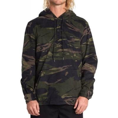 ビラボン Billabong メンズ スキー・スノーボード アノラック パーカー トップス furnace anorak hoodie Camo
