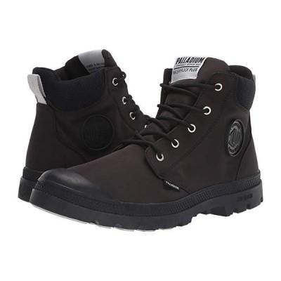 パラディウム Pampa Lite Cuff WP メンズ ブーツ Black/Black