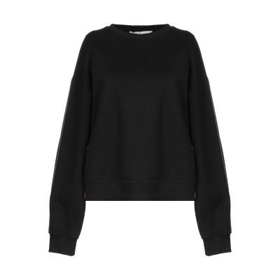 RAME スウェットシャツ ブラック 1 コットン 100% スウェットシャツ