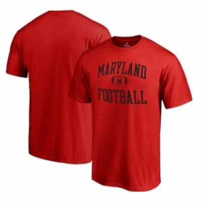 Fanatics Branded ファナティクス ブランド スポーツ用品  Fanatics Branded Maryland Terrapins Red Neutral Zone Tea