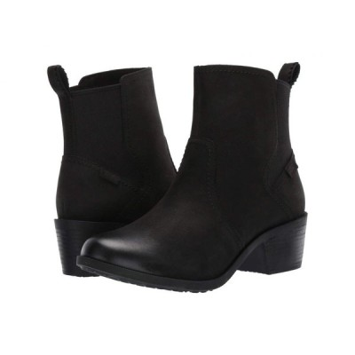 テバ Teva レディース ブーツ シューズ・靴 Anaya Chelsea WP Black