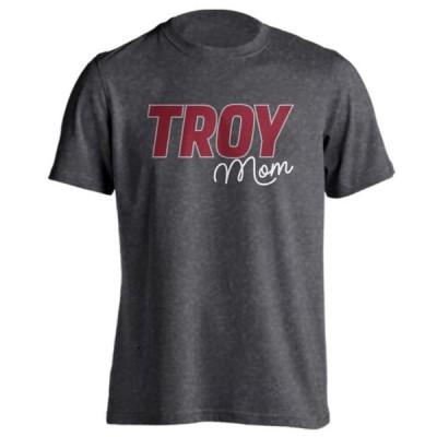 ユニセックス スポーツリーグ アメリカ大学スポーツ Troy University Trojans Proud Parent Mom Short Sleeve T-Shirt Tシャツ