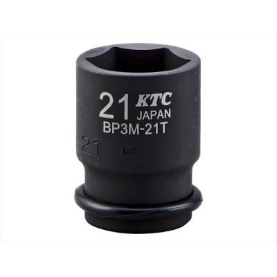 KTC 9.5sq.インパクトレンチ用ソケット(セミディープ薄肉)7mm