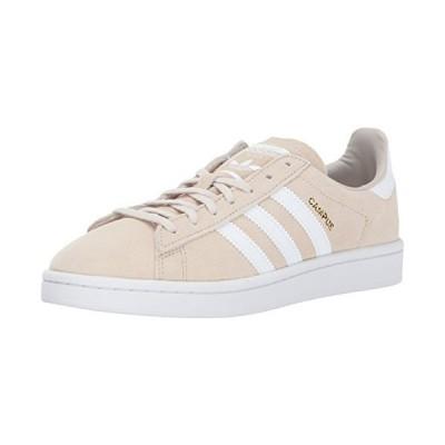 adidas Originals Women's Campus Sneaker, Clear Brown/White/Crystal White, (11 Medium US)
