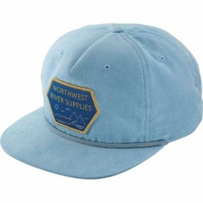 エヌアールエス NRS メンズ キャップ 帽子 Parks Hat Air Blue