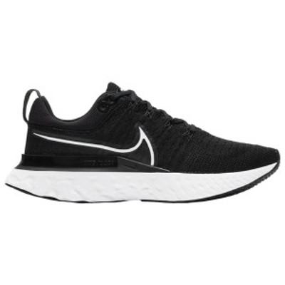 ナイキ レディース スニーカー シューズ Nike React Infinity Run Flyknit 2 Black/Iron Grey/White